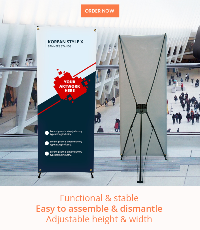 Functional & stable Easy to assemble & dismantle Adjustable height & width